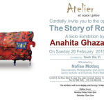 The Story of Room - Exhibition card - Atelier - 2016 Feb March