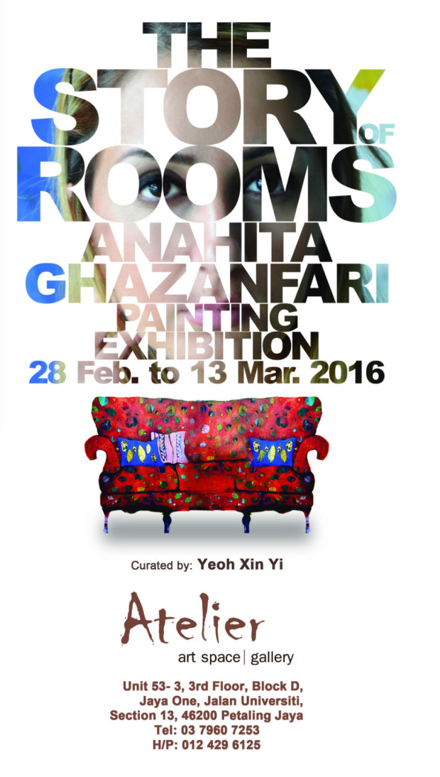 The Story of Room - Exhibition poster - Atelier - 2016 Feb March